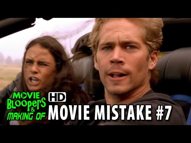 The Fast and The Furious (2001) movie mistake #7