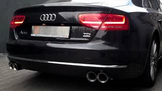 Audi A8 L 4.2 TDI (D4) w/ MGmotorsport.pl exhaust system