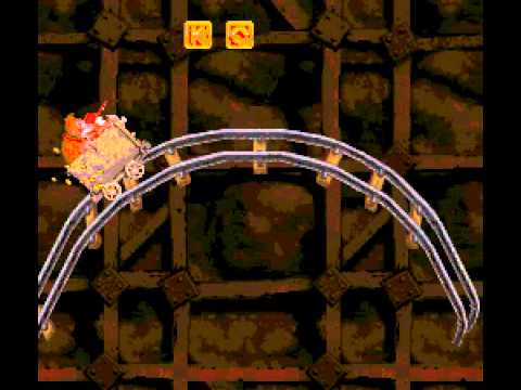 Donkey Kong Country - death kart ride!! - User video