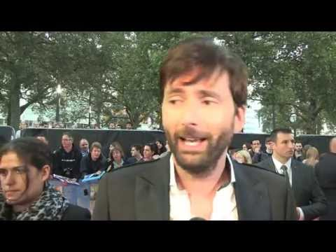 David Tennant - What We Did On Our Holiday - UK Premiere Interviews
