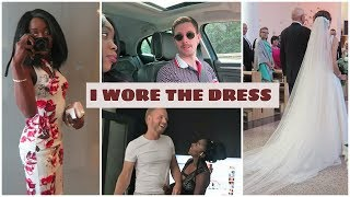 I WORE THE DRESS YOU ALL CHOSE | SUMMER WEDDING GUEST