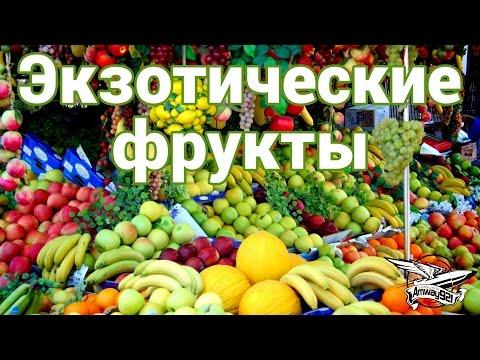 Экзотические фрукты. Гайд