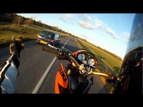 Ktm duke Gopro wheelies