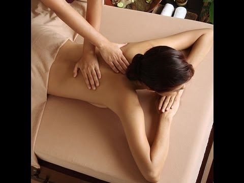 asian and japanese massage, back long