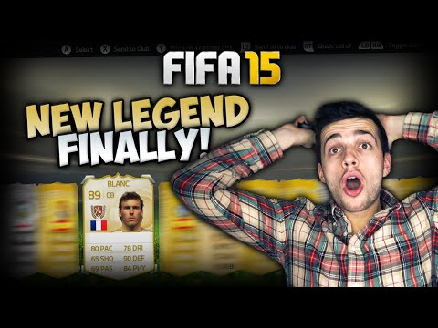 FIFA 15 600K PACKS - FIFA 15 PACK OPENING FOR NEW LEGEND BLANC! #FUTUNITED