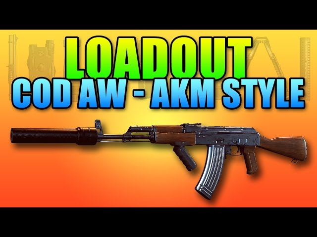 Loadout - COD AW Suppressed AKM Punisher! | Battlefield Hardline Assault Rifle Gameplay