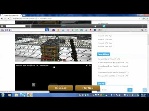 How to download minecraft maps fore FREE also for CRACKED or premium