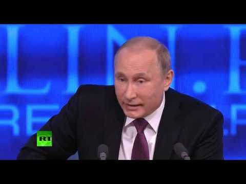 Putin Defends Annexation Of Crimea: America Took Texas From Mexico