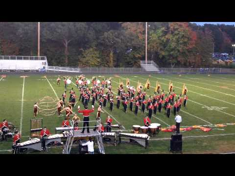 2013 Cheshire High School Marching Band at Lyman Hall - October 5, 2013