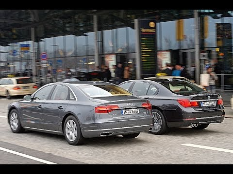 BMW 730d vs. Audi A8 3.0 TDI