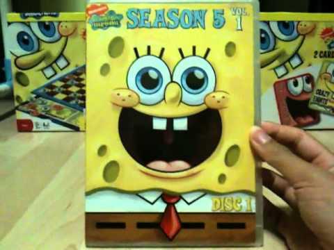 Spongebob Seasons Dvd Spongebob Dvd Reviews Season