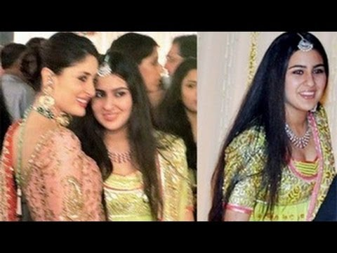 Kareena Kapoor Bonds With Saif Ali Khan's Daughter Sara video