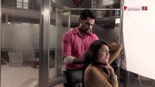 Arjun - BTS - Shaleen and Mrunal shooting the choking scene