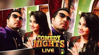 Adaa Khan (Shesha) HILARIOUS NAAGIN DANCE On Comedy Nights Live | 28 February 2016 Episode