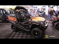2017 CfMoto UForce 800 EPS Utility ATV - Walkaround - 2016 Toronto ATV Show
