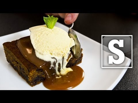 STICKY TOFFEE PUDDING RECIPE - SORTED