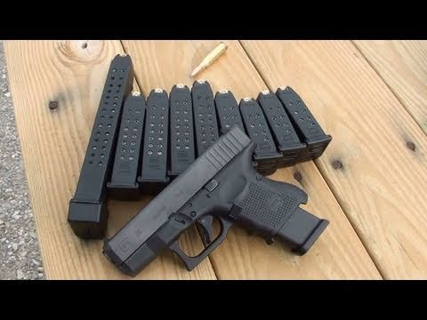 GLOCK 26 GEN 4 ON THE RANGE