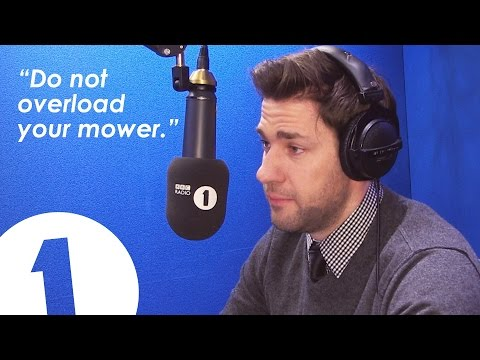 Jim from The Office cries acting on the radio