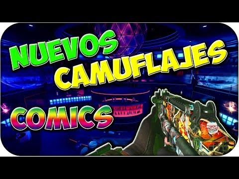 Nuevo Camuflaje Comics!! - Black Ops 2
