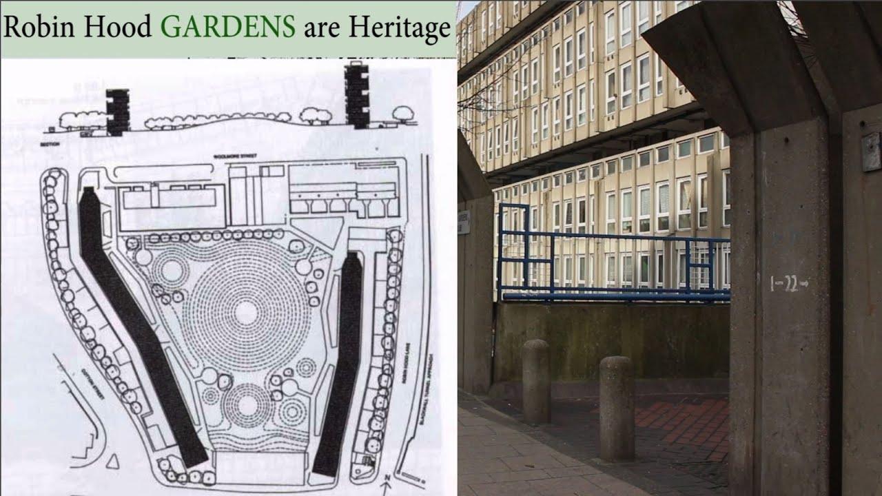 Smithsons' Robin Hood Gardens