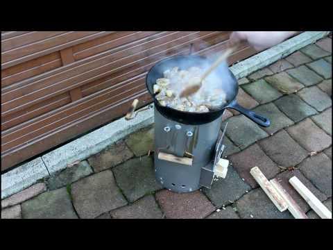 Raketenofen Rocket Stove Heater Heizung Kocher usw. Deutsch