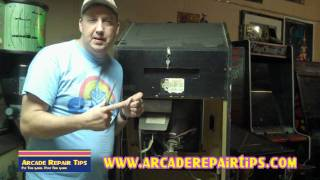 Arcade Repair Tips - Opening An Arcade Cabinet