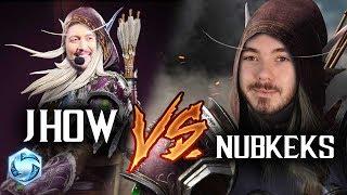 New Sylvanas - NUBKEKS VS JHOW(!!!) // Heroes of the Storm PTR