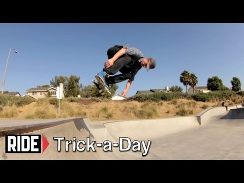 How-To B/S Ollie with Chad Bartie - Trick-a-Day