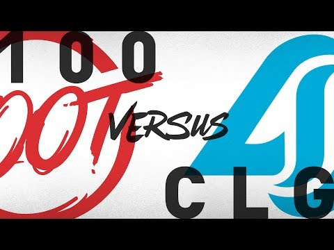 100 vs. CLG - Week 6 Day 2 | NA LCS Summer Split | 100 Thieves vs. Counter Logic Gaming (2018)
