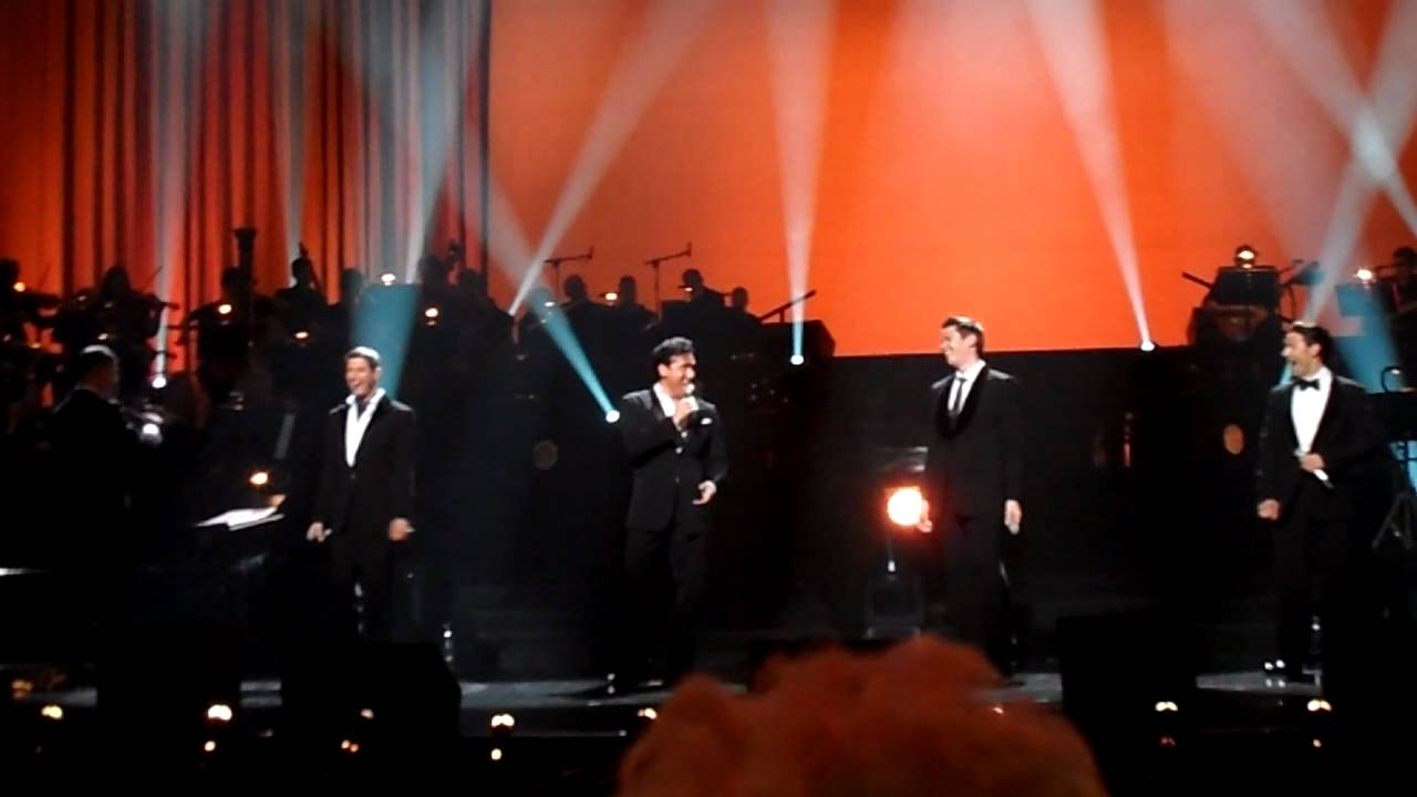 Il divo my way is so much more than this youtube - Il divo at the coliseum ...
