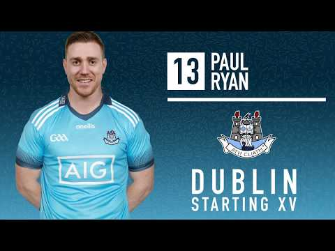 Dublin hurlers Team announcement v Wexford May 19th