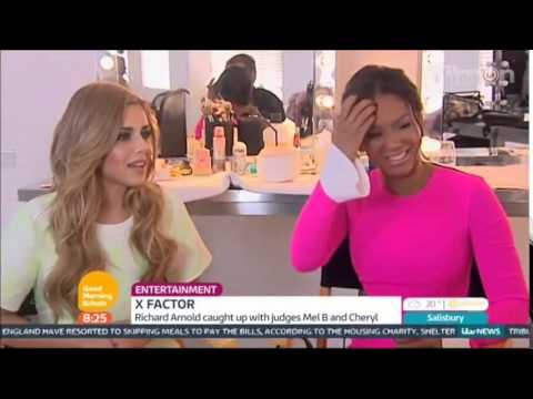 Cheryl & Mel B & Dermot - Interview - 28/08/2014 - Good Morning Britain
