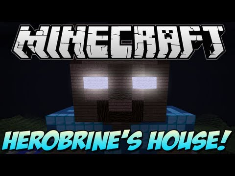Minecraft | HEROBRINE'S HOUSE! | Build Showcase [1.5.1]