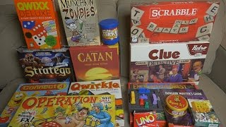 Board Games / Tabletop Games Collection (ASMR)