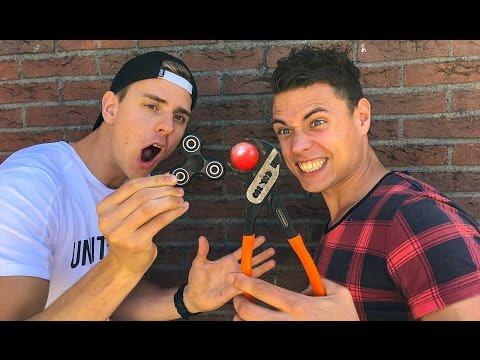 FIDGET SPINNER 1000 GRADEN BALL!  - MAKE A WISH! - VLOG
