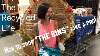 "How To Shop ""THE BINS!"" Come Shop The Goodwill Outlet ""Bins"" With Us The Recycled Life 