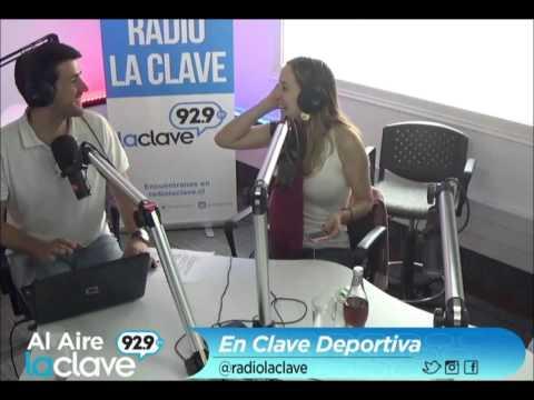 En Clave Deportiva - Radio La Clave - Cecilia Lagos y Francisco Eguiluz - Viernes 13/03/2015