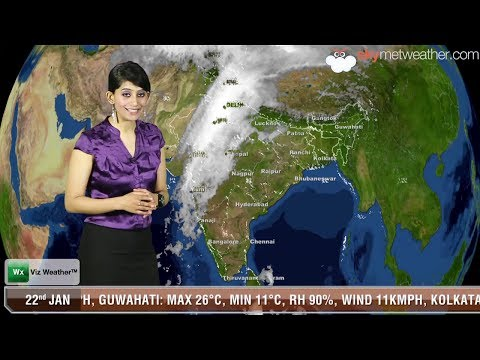 22/01/14 - Skymet Weather Report for India