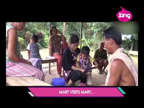 Priyanka meets Mary Kom's coach in Manipur
