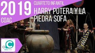 Cuarteto infantil, Harry potera y la piedra sofá - Final