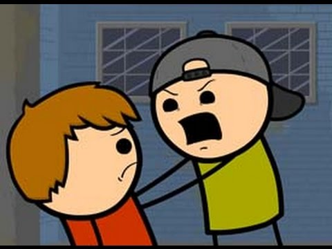 Return of the Purple Shirted Eye Stabber - Cyanide & Happiness Shorts