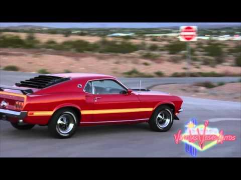 1969 Ford Mustang Mach 1 428 Cobra Jet Test Drive Viva Las Vegas Autos