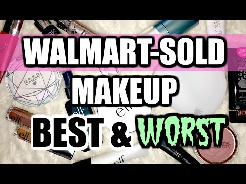 Walmart-Sold Makeup   Haul & Mini-Reviews