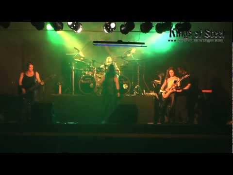 KINGS OF STEEL Manowar cover Heart of Steel Live Ledslay 2009