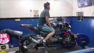 BMW S1000RR PC5 Dyno Tuning - Motodynamics Technology Malaysia