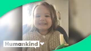 Toddler's sweet words of affirmation