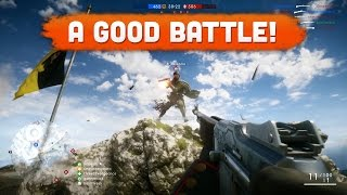 A GOOD BATTLE! - Battlefield 1 | Road to Max Rank #19 (Multiplayer Gameplay)