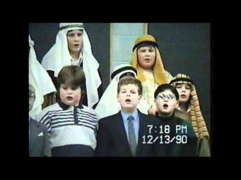 Christmas Program at New Hebron Christian School, New Hebron, Illinois--December 13, 1990