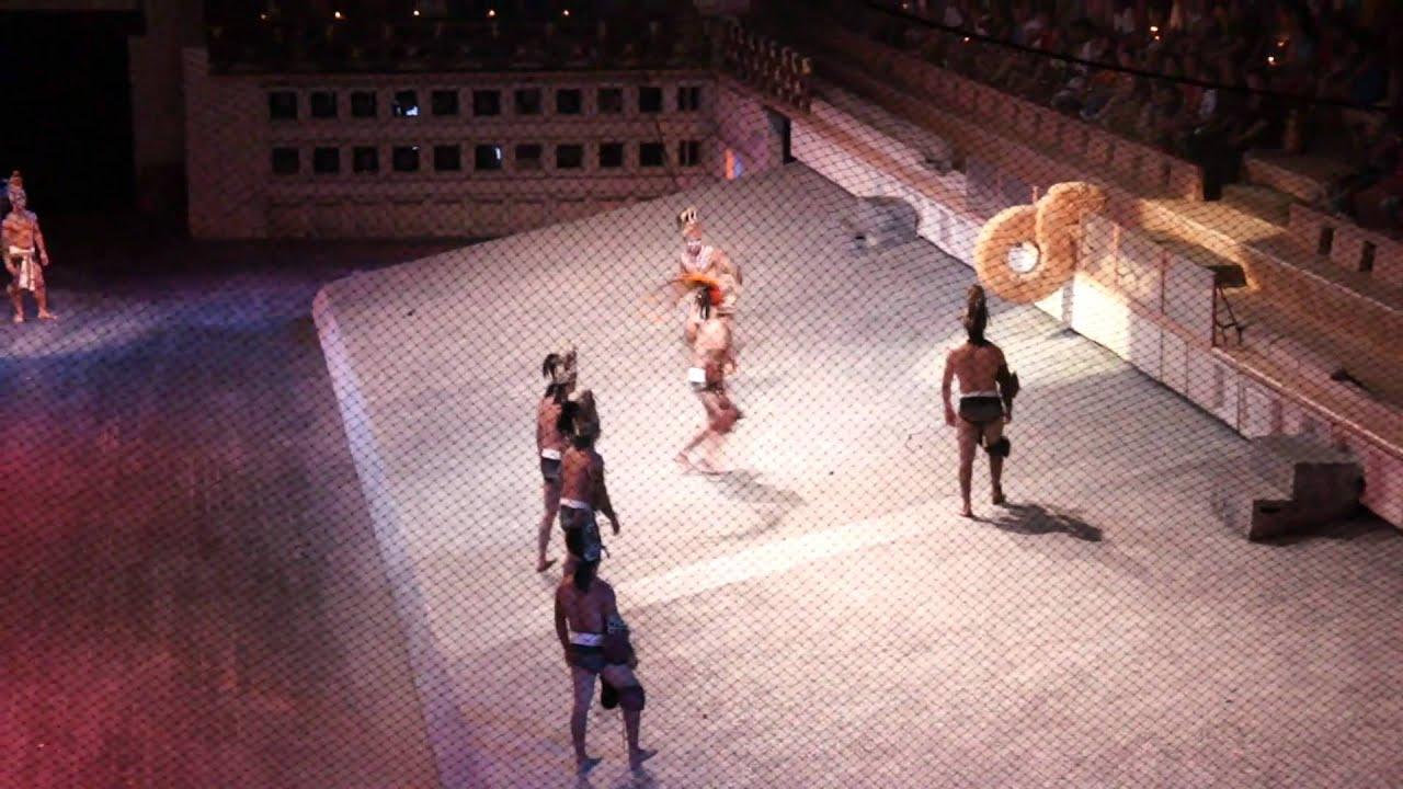Mayan Ball Game - Xcaret Night Show - YouTube