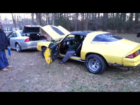 1979 Chevy Camaro cold start up attempt